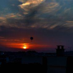 #париж #залез #небе #слънце #paris #sunset #sky #coucherdesoleil #milenaguideparis #instasunsets #instalike #beautifulsky