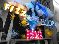 Ok, last one. Fizz Boom Read! Library Book Display