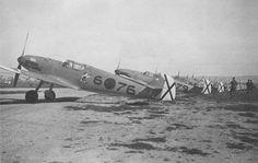 The Messerschmitt Bf 109C-4 serving in the Condor Legion in Spain