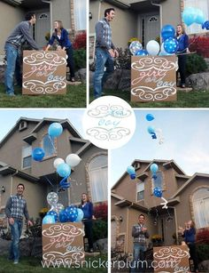 Gender Reveal Party   Snickerplums Party Blog   Snickerplum