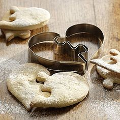 heart shaped cookie cutter by bob by post