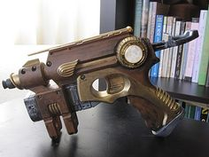 Steampunked nerf gun (with process description)