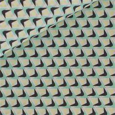 Prisma+-+grün+/+grau+-++weicher+Baumwollstoff+von+rauffaser.de+auf+DaWanda.com