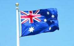 Flag of Australia wallpaper