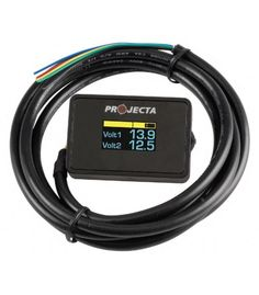 Projecta 12V Dual Battery Voltmeter