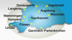 Das Fürst-Servicenetz: Allgäu und Oberbayern
