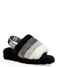da4b663e4fb7 UGG® Fluff Yeah Multi-Color Slides  Dillards Glass Shoes