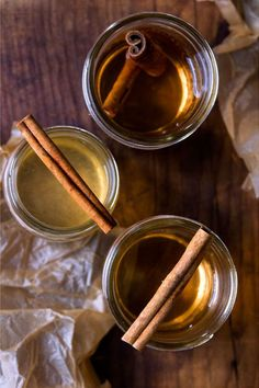 Pearman's Toddy   Laced with cinnamon, lemon, and Angostura bitters, this gin-based drink is a brisk, warming twist on a toddy.