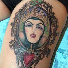 by Tara Renee at Chrome Lotus Tattoo Evil Queen, Snow White , Disney , Disney Villains