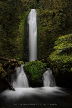 Gorton Creek Falls - Columbia River Gorge, Oregon