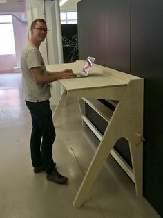OpenDesk - Studio / #158 -standing desk design. OpenDesk is a global platform for local making. You can use it to download, make and buy furniture for your work space.
