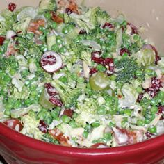 Raw Veggie Picnic Salad - My 14-year old niece and I made this for a picnic dinner for movies on the beach.  We made 6 servings of this salad along with two other dishes.  None of this came home and virtually all of the other two dishes came home.  That about says it all.  Absolutely yummy!