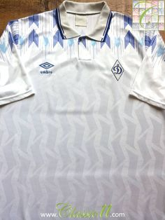 Relive Dynamo Moscow's 1990/1991 season with this vintage Umbro home football shirt.