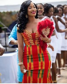 This post can show you the most recent kente designs 2019 has future for you. we have collected the best 77 styles of Latest Kente Designs For Ghanaian Wedding 2019 from African styles attires. African Traditional Wedding Dress, African Wedding Dress, African Print Dresses, African Print Fashion, African Fashion Dresses, African Dress, African Fabric, Ghana Traditional Wedding, Ankara Fashion