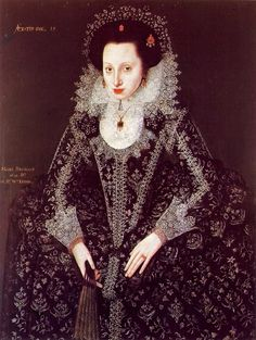 1620 unknown lady by Nathaniel Bacon (English painter, 1585–1627) 1595-1600 Mary Fitton 1600 attr to Domenico Robusti, also k...