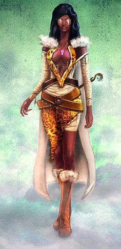 Female wizard of Divine Essence mage Guild by Igor-Esaulov.deviantart.com on @DeviantArt