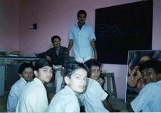 På besøg i en indisk skole #1994 #indien #rejseminder #backpackerplanet #India