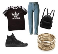 """""""Retro style"""" by eliska279 on Polyvore featuring adidas Originals, STELLA McCARTNEY and Sole Society"""