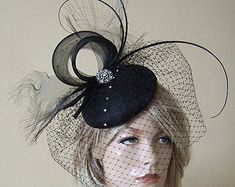 Fascinator Fleur Alice Band Hatinator Mariage Courses formelles Occasion Ascot Prom