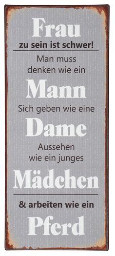Metallschild von IB Laursen, Wanddekoration, Geschenk