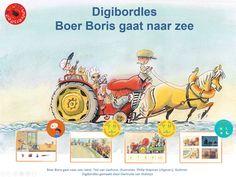 Digibordles Boer Boris gaat naar zee | Kleuteruniversiteit