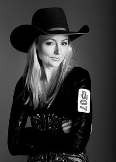 Lindsay Sears... NFR Barrel Champion, she raced at the Houston Rodeo and she made it to finals and I watched her win!