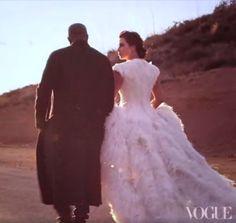 kim kardashian vogue, THAT DRESS, want it, desperately for my wedding. Alexander Mcqueen madness