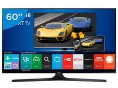 """Smart TV LED 60"""" Samsung Full HD J6300 - Conversor Digital Wi-Fi 4 HDMI 3 USB"""