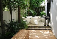 Deck and paving, subtropical