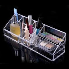 Beauty Acrylic - Acrylic Cosmetic Organizer Makeup Brushes Lipstick Holder 1301, $19.99 (http://www.beautyacrylic.com/products/acrylic-cosmetic-organizer-makeup-brushes-lipstick-holder-1301.html)