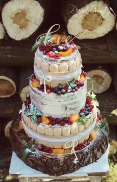 "Wedding Cake ""Love"" by DmytriiPuga - http://cakesdecor.com/cakes/281742-wedding-cake-love"