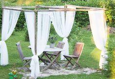 Katos Diy Garden Projects, Outdoor Projects, Garden Ideas, Terrace Garden, Pergola, Cottage, Landscape, House, Home Decor