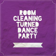 Room Cleaning Dance Party music playlist!