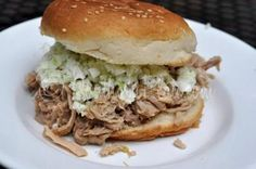 Southern Style Pulled Pork BBQ- Slow Cooker Recipe