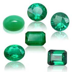 Emerald stone  - May birthstone,