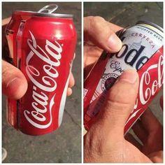 super idea para esconder una cerveza