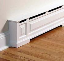 hot water heat registers | Baseboard Heater: