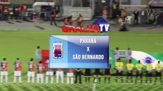 Jogo da Copa do Brasil entre Paraná Clube e São Bernardo, com vitória do Paraná.