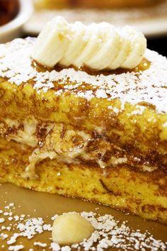 Cream Cheese and Banana Stuffed French Toast (Weight Watchers)