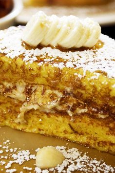 Cream Cheese and Banana Stuffed French Toast