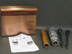 Beautyware Copper Vintage Aluminum Foil Holder - shopgoodwill.com