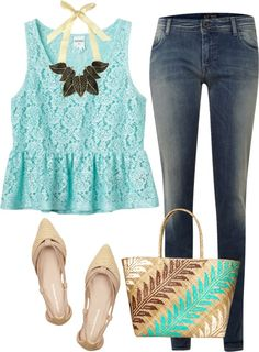 """Beach Bum"" by k-cat on Polyvore"