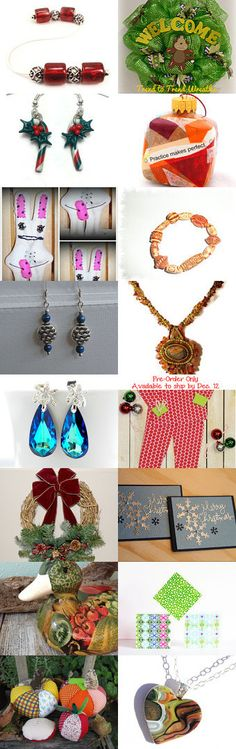 Snow Day Shopping by Suzanne Jacobs on Etsy--Pinned with TreasuryPin.com #jewelry #christmas