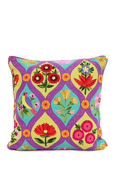 Karma Living Precious Threads Jardin Cushion