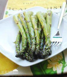 Roasted Asparagus Recipe | Healthy Recipes