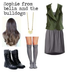 """""""Sophie form Bella and the bulldogs"""" by picklejoe ❤ liked on Polyvore featuring Wet Seal and The North Face"""