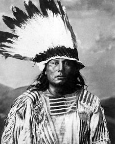 Native American Indian CHIEF GALL Glossy  Lakota Sioux