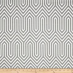 Grey Geometric Fabric by the Yard trail ash Upholstery Fabric Premier Prints home decor - 1 yard or more - SHIPS FAST by FabricSecret on Etsy https://www.etsy.com/listing/208134316/grey-geometric-fabric-by-the-yard-trail