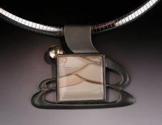 Willow Creek Jasper Sterling Silver Pendant with 18 by Joyfulcrow