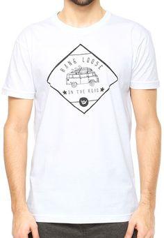 3537936325312 Camiseta Hang Loose Branca - Compre Agora